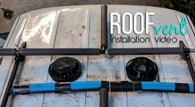 Vanair roof vent installation video